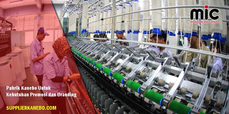 Pabrik Kanebo di Jakarta